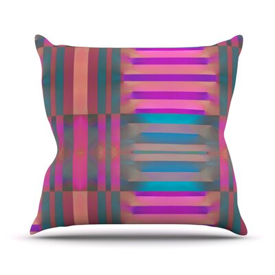 Tracking Throw Pillow Size: 16 H x 16 W