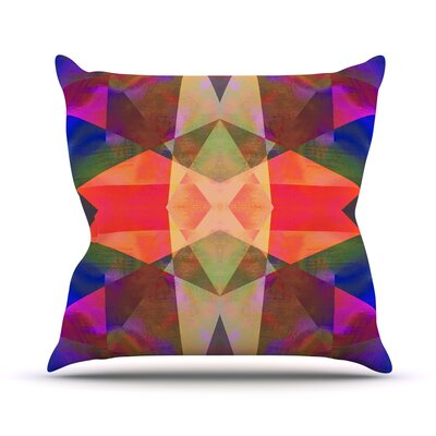 Irridesco Throw Pillow Size: 18 H x 18 W