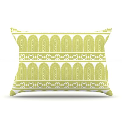 Tribal by Nandita Singh Featherweight Pillow Sham Size: Queen, Fabric: Woven Polyester