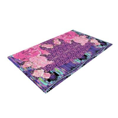 Nina May Lepparo Purple/Pink Area Rug Rug Size: 2 x 3