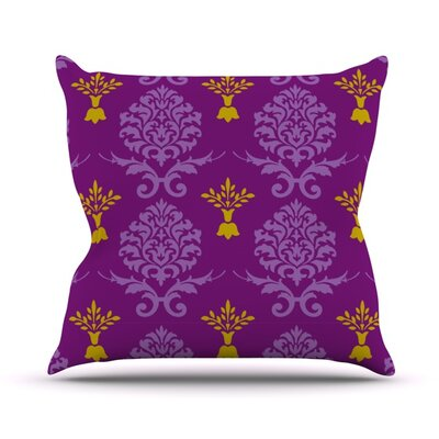 Crowns Throw Pillow Size: 16 H x 16 W