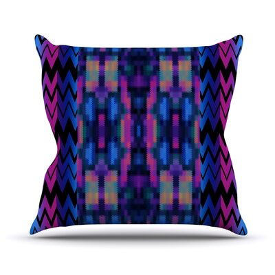 Skya Throw Pillow Size: 18 H x 18 W