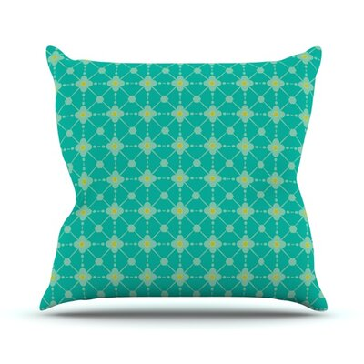 Hive Blooms Throw Pillow Size: 18 H x 18 W