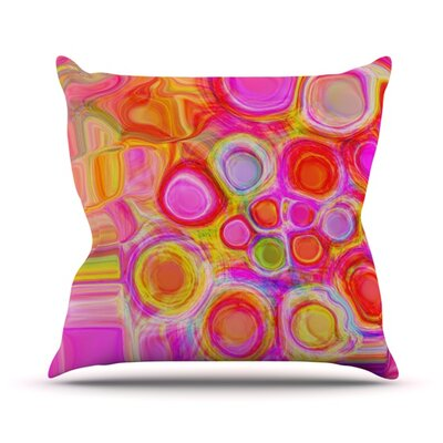Spring Throw Pillow Size: 16 H x 16 W