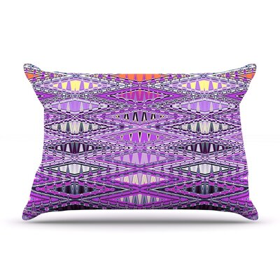 Orche Kilim by Nina May Featherweight Pillow Sham Size: King, Fabric: Woven Polyester