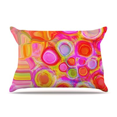 Spring by Nina May Featherweight Pillow Sham Size: King, Fabric: Woven Polyester