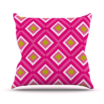 Moroccan Tile Throw Pillow Size: 26 H x 26 W