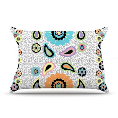 Moda Paisley Pillow Case Size: King