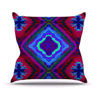 Kilim Throw Pillow Size: 18 H x 18 W