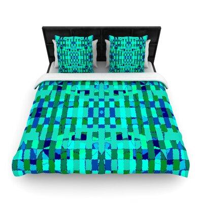 Verdiga Woven Comforter Duvet Cover Size: Twin