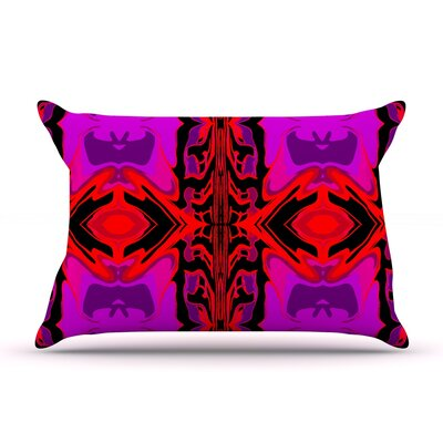 Ornamena by Nina May Featherweight Pillow Sham Size: King, Fabric: Woven Polyester