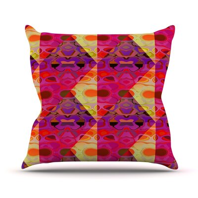 Allicamohot Throw Pillow Size: 18 H x 18 W