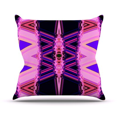 Throw Pillow Size: 18 H x 18 W, Color: Decorama