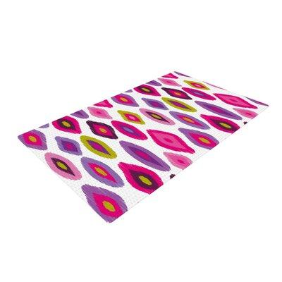 Nicole Ketchum Moroccan Dreams Purple/Pink Area Rug Rug Size: 4 x 6