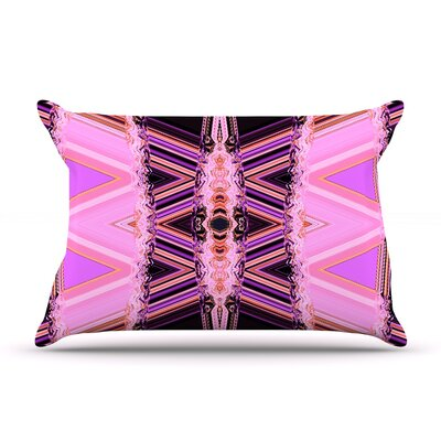 Pillow Case Size: Standard, Color: Decorama Pink