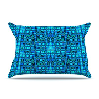 Variblue by Nina May Featherweight Pillow Sham Size: Queen, Fabric: Woven Polyester