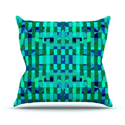 Verdiga Throw Pillow Size: 16 H x 16 W