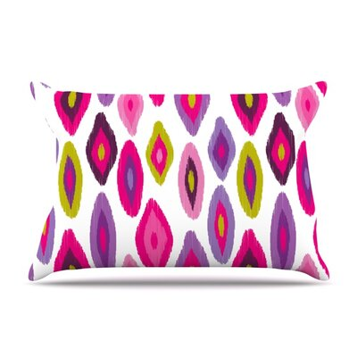 Moroccan Dreams by Nicole Ketchum Featherweight Pillow Sham Size: King, Fabric: Woven Polyester