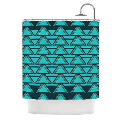 Shower Curtain Color: Deco Angles