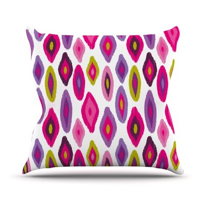 Moroccan Dreams Throw Pillow Size: 18 H x 18 W