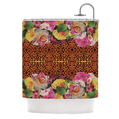 New Rose Eleo Shower Curtain