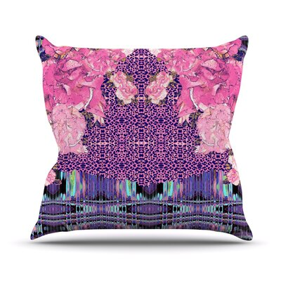 Lepparo Throw Pillow Size: 18