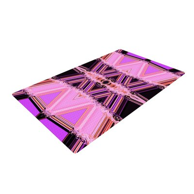 Nina May Decorama Pink Area Rug Rug Size: 2 x 3