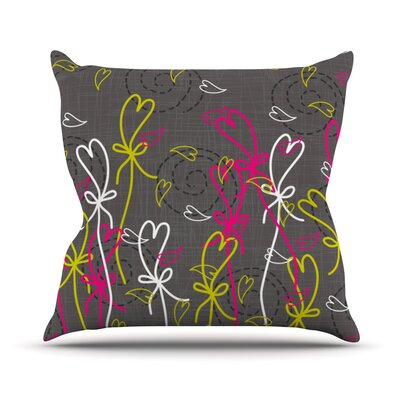 Bohemian III Throw Pillow Size: 16 H x 16 W