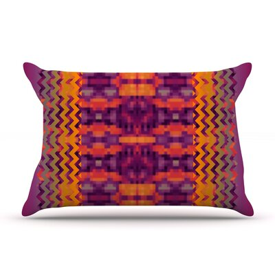 Medeasetta by Nina May Featherweight Pillow Sham Size: King, Fabric: Woven Polyester
