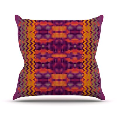 Medeasetta Throw Pillow Size: 26 H x 26 W