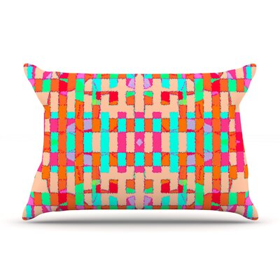 Sorbetta by Nina May Featherweight Pillow Sham Size: King, Fabric: Woven Polyester
