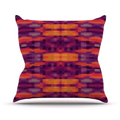 Medeaquilt Throw Pillow Size: 16 H x 16 W