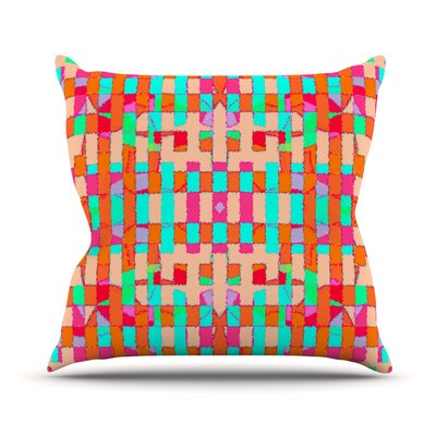 Sorbetta Throw Pillow Size: 18 H x 18 W