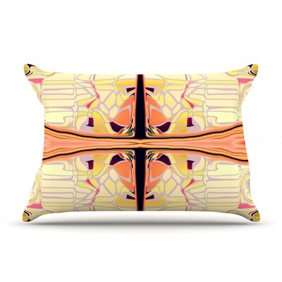 Naranda by Nina May Featherweight Pillow Sham Size: King, Fabric: Woven Polyester