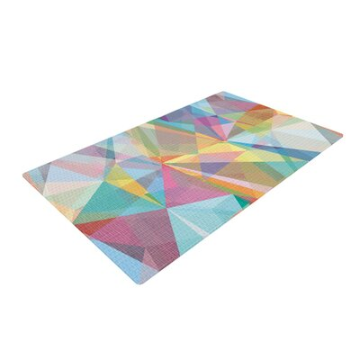 Mareike Boehmer Graphic 32 Abstract Rainbow Area Rug Rug Size: 2 x 3