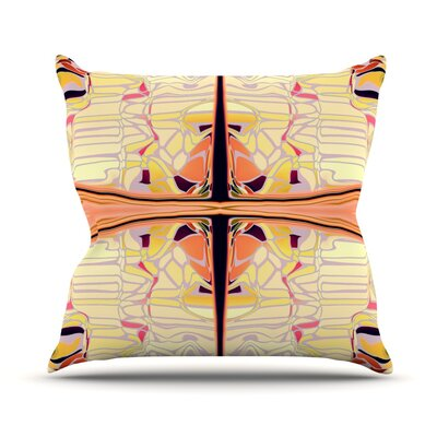 Naranda Throw Pillow Size: 18 H x 18 W