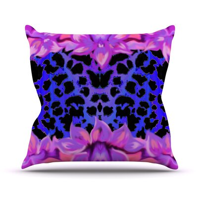 Cerruda Leora by Artist Name Throw Pillow Size: 18 H x 18 W x 3 D