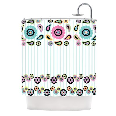 Paisley Party Shower Curtain