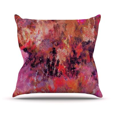 Indian City Throw Pillow Size: 18 H x 18 W