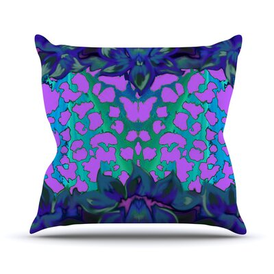 Cerruda Orchid by Artist Name Throw Pillow Size: 26 H x 26 W x 5 D