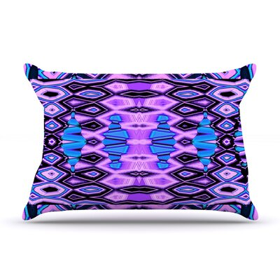 Nina May Deztecca Lilac Pillow Case