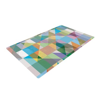 Mareike Boehmer Graphic 74 Abstract Rainbow Area Rug
