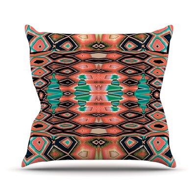 Deztecca Throw Pillow Size: 20 H x 20 W