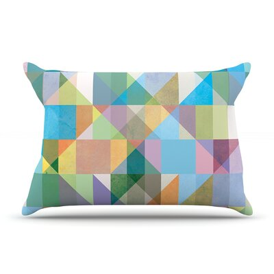 Mareike Boehmer Graphic 74 Rainbow Abstract Pillow Case