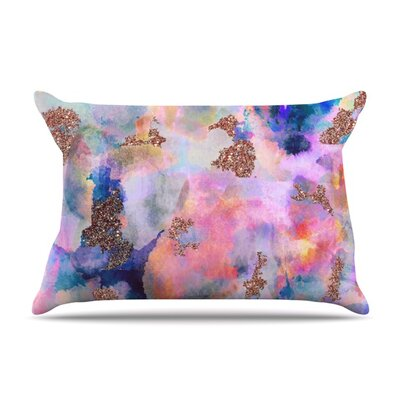 Sparkle Mist by Nikki Strange Featherweight Pillow Sham Size: Queen, Fabric: Woven Polyester
