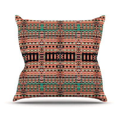 Deztekka Throw Pillow Size: 26 H x 26 W