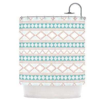 Yerbabuena Shower Curtain