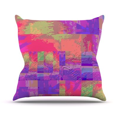 Embossed Impermenance Throw Pillow Size: 18 H x 18 W