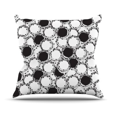 Beaded Bangles by Nandita Singh Throw Pillow Size: 16 H x 16 W x 3 D