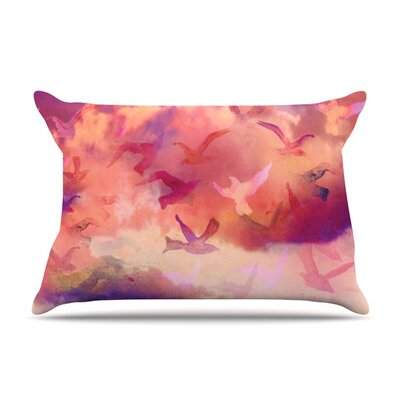 Souffle Sky by Nikki Strange Featherweight Pillow Sham Size: Queen, Fabric: Woven Polyester